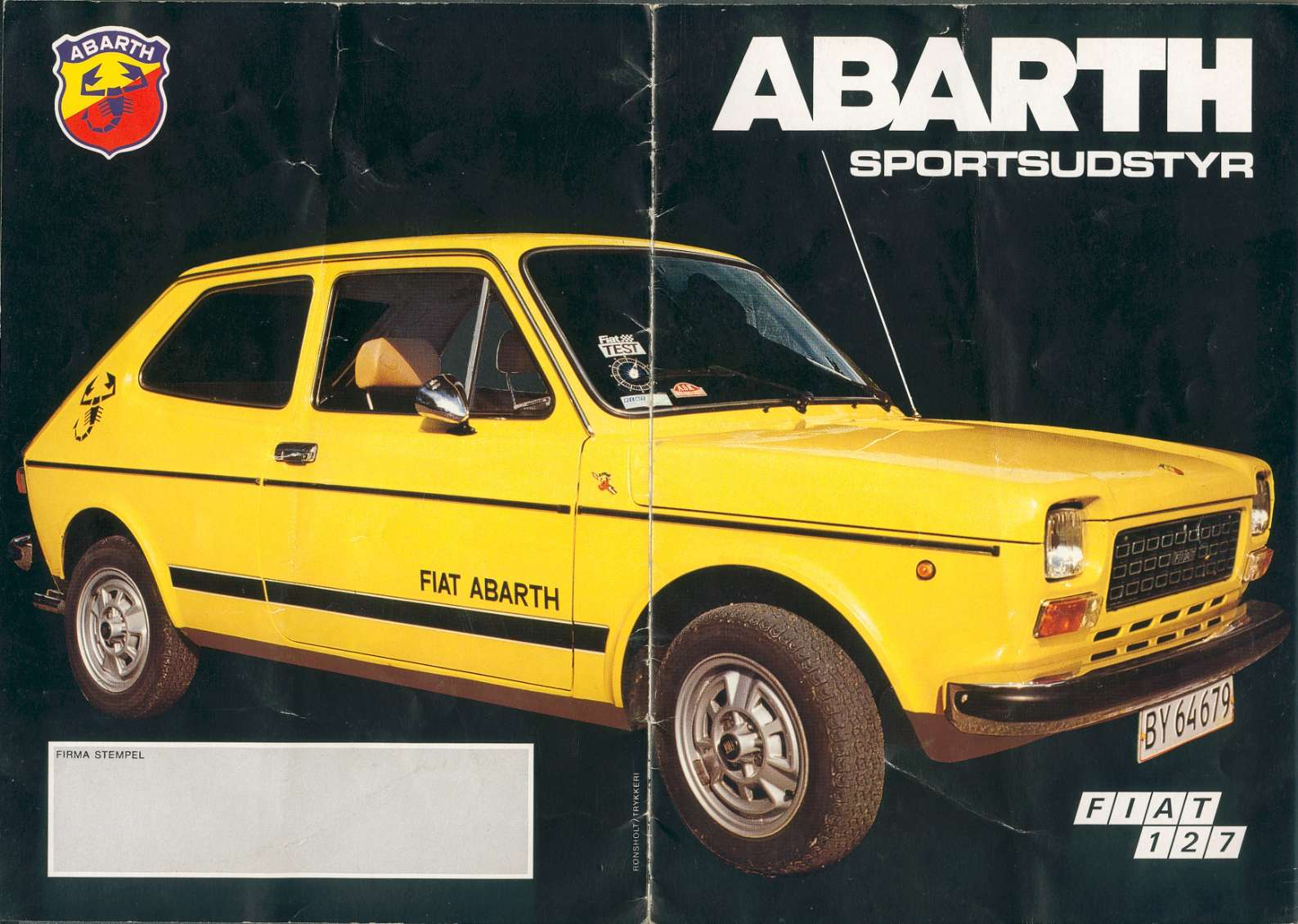 fiat 127 abarth. Black Bedroom Furniture Sets. Home Design Ideas